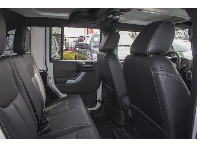 2018 Jeep Wrangler JK Unlimited Sahara (Stk: J863961) in Abbotsford - Image 19 of 21