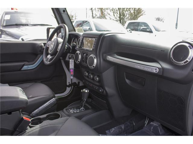 2018 Jeep Wrangler JK Unlimited Sahara (Stk: J863961) in Abbotsford - Image 20 of 21