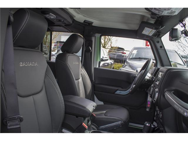 2018 Jeep Wrangler JK Unlimited Sahara (Stk: J863961) in Abbotsford - Image 21 of 21