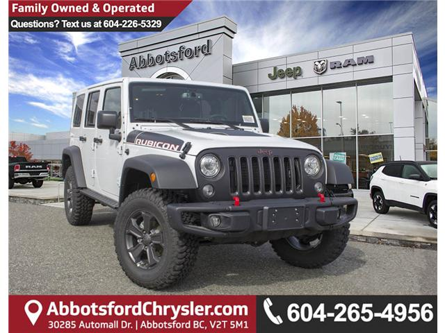2018 Jeep Wrangler JK Unlimited Rubicon (Stk: J881239) in Abbotsford - Image 1 of 24