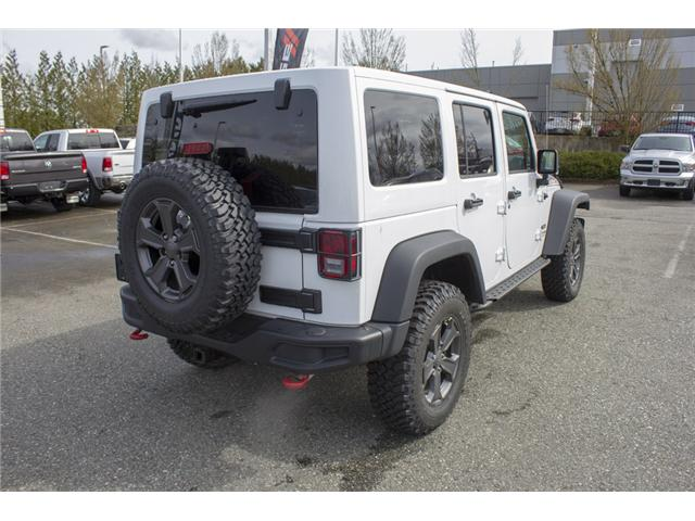 2018 Jeep Wrangler JK Unlimited Rubicon (Stk: J881239) in Abbotsford - Image 7 of 24