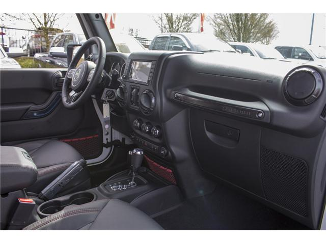 2018 Jeep Wrangler JK Unlimited Rubicon (Stk: J881239) in Abbotsford - Image 16 of 24