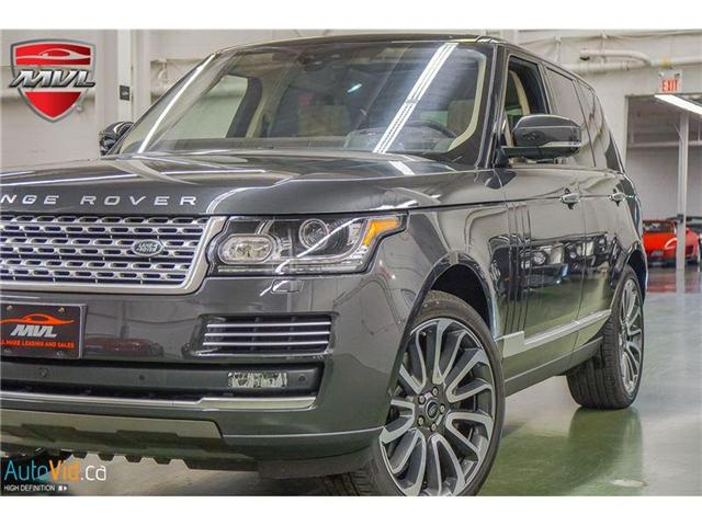 2017 Land Rover Range Rover 5.0L V8 Supercharged Autobiography (Stk: SALGV2) in Oakville - Image 1 of 34