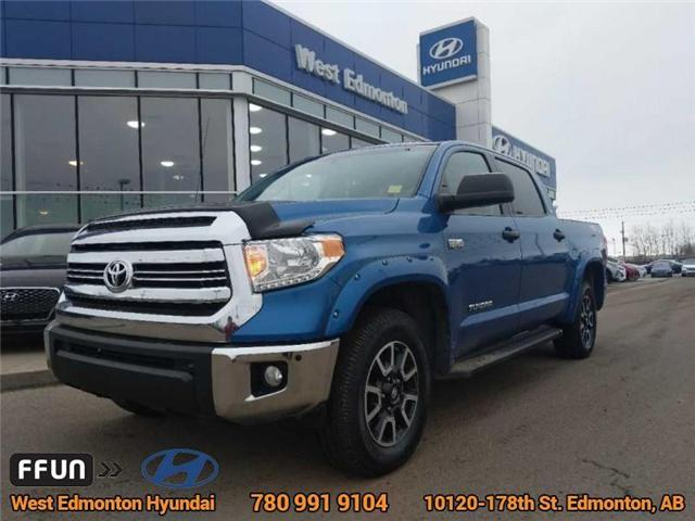 2016 Toyota Tundra SR5 (Stk: E3049A) in Edmonton - Image 1 of 25
