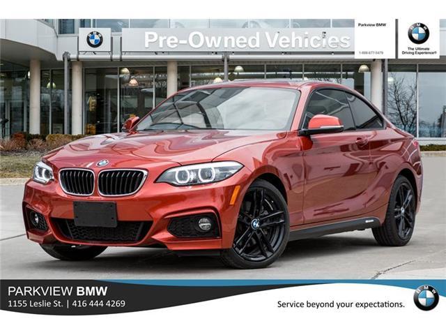 2018 BMW 230 i xDrive (Stk: PP7954) in Toronto - Image 1 of 21