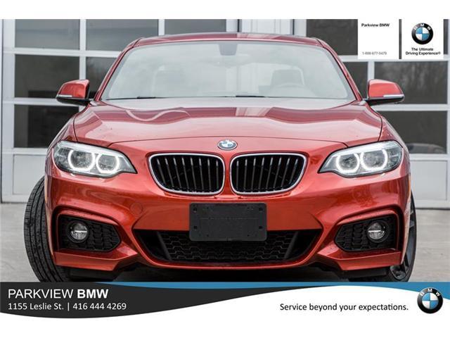 2018 BMW 230 i xDrive (Stk: PP7954) in Toronto - Image 2 of 21