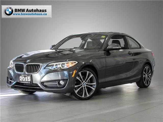 2015 BMW 228i xDrive (Stk: P8128) in Thornhill - Image 1 of 22