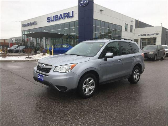 2016 Subaru Forester 2.5i (Stk: P03568) in RICHMOND HILL - Image 1 of 22