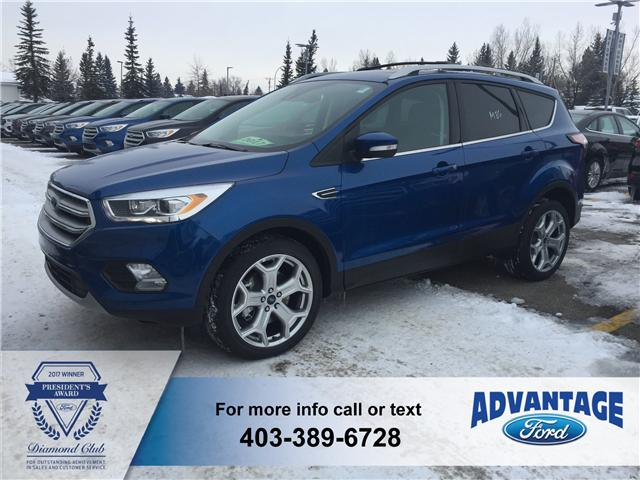 2017 Ford Escape Titanium (Stk: H-1444) in Calgary - Image 1 of 6