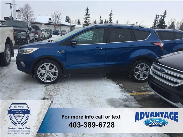 2017 Ford Escape Titanium (Stk: H-1444) in Calgary - Image 2 of 6