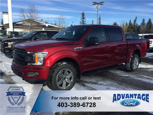 2018 Ford F-150 XLT (Stk: J-097) in Calgary - Image 1 of 5