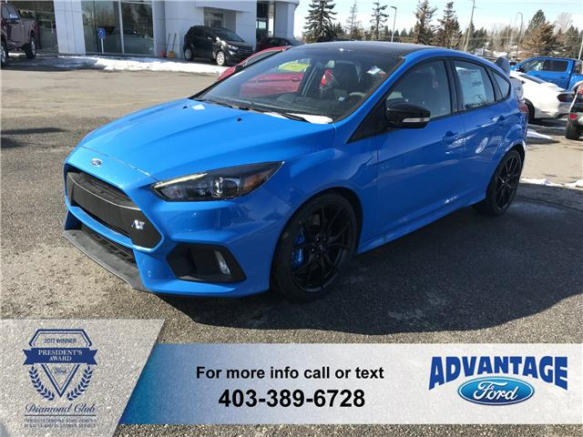 2018 Ford Focus RS Base (Stk: J-164) in Calgary - Image 1 of 5