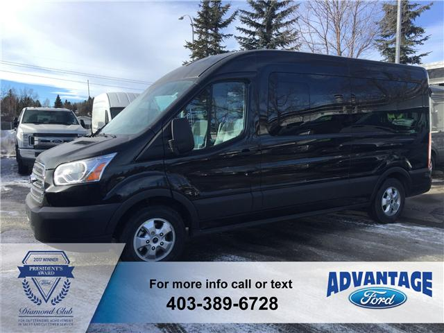2018 Ford Transit-350 XLT (Stk: J-174) in Calgary - Image 1 of 6