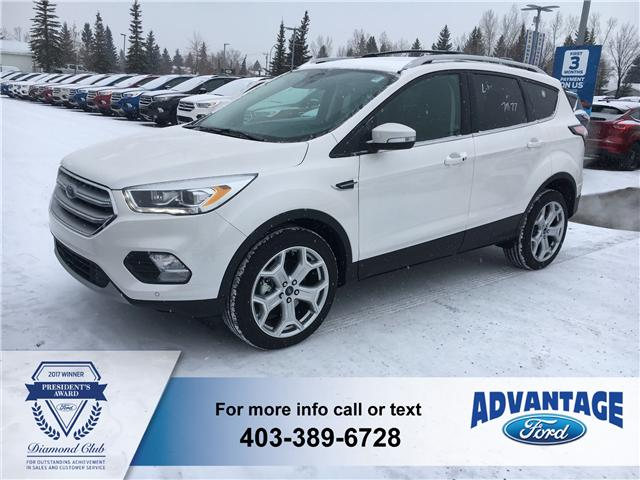2017 Ford Escape Titanium (Stk: H-1751) in Calgary - Image 1 of 5