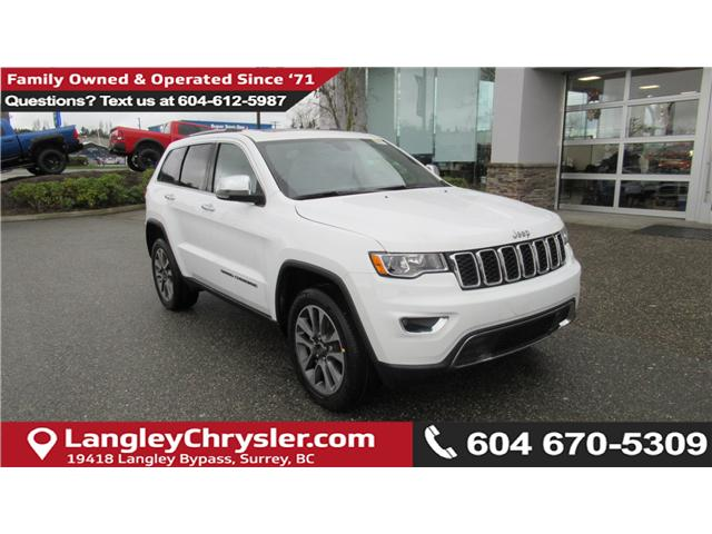 2018 Jeep Grand Cherokee Limited (Stk: J265116) in Surrey - Image 1 of 15