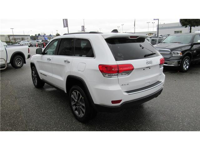 2018 Jeep Grand Cherokee Limited (Stk: J265116) in Surrey - Image 3 of 15