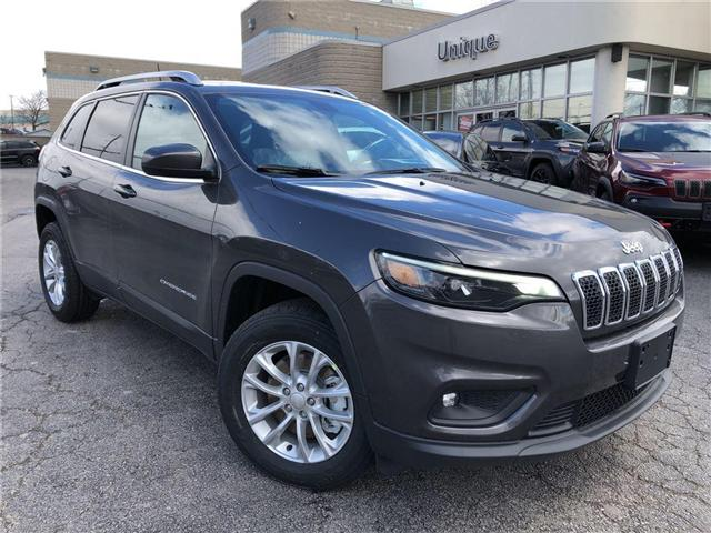 2019 Jeep Cherokee North (Stk: K014) in Burlington - Image 1 of 18