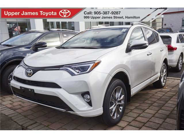 2018 Toyota RAV4 Limited (Stk: 180570) in Hamilton - Image 1 of 10
