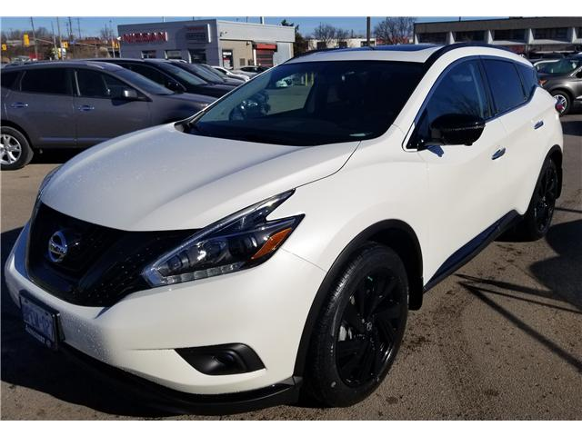 2018 Nissan Murano Midnight Edition (Stk: D121518A) in Scarborough - Image 1 of 3