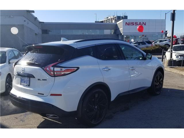 2018 Nissan Murano Midnight Edition (Stk: D121518A) in Scarborough - Image 2 of 3