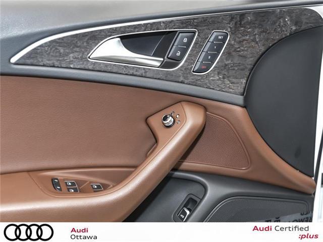 2017 Audi A6 3.0T Progressiv (Stk: 50805) in Ottawa - Image 14 of 22