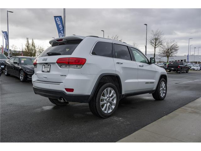 2017 Jeep Grand Cherokee Limited (Stk: AA0171) in Abbotsford - Image 7 of 27
