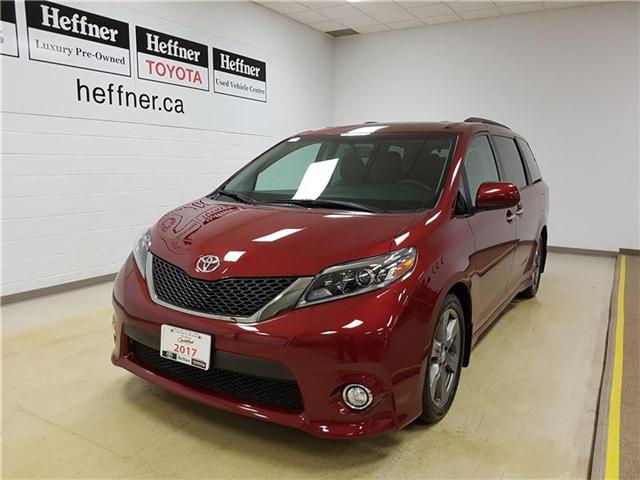 2017 Toyota Sienna  (Stk: 185341) in Kitchener - Image 1 of 24