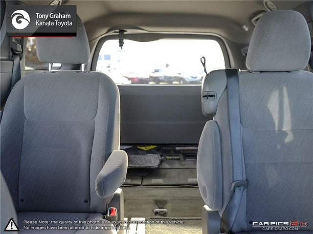 2016 Toyota Sienna LE 8 Passenger (Stk: B2776) in Ottawa - Image 13 of 25