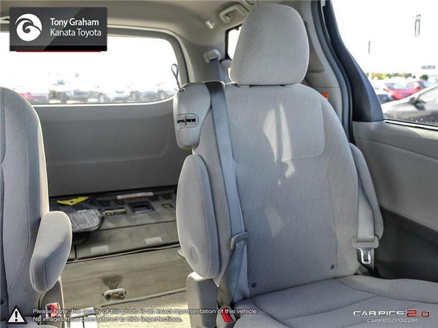 2016 Toyota Sienna LE 8 Passenger (Stk: B2776) in Ottawa - Image 14 of 25