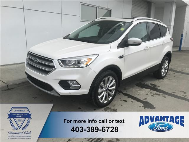 2017 Ford Escape Titanium (Stk: 5172) in Calgary - Image 1 of 10