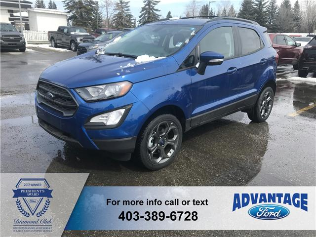 2018 Ford EcoSport SES (Stk: J-181) in Calgary - Image 1 of 6