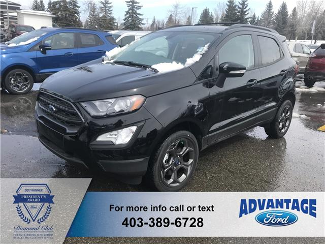 2018 Ford EcoSport SES (Stk: J-184) in Calgary - Image 1 of 6