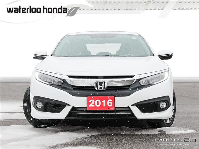 2016 Honda Civic Touring (Stk: U3658) in Waterloo - Image 2 of 28