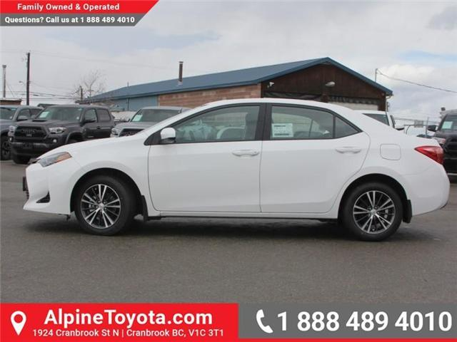 2018 Toyota Corolla LE Upgrade Package (Stk: C077585) in Cranbrook - Image 2 of 18