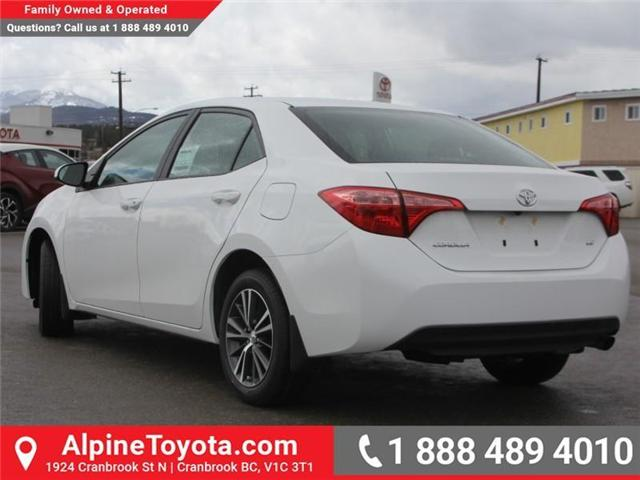 2018 Toyota Corolla LE (Stk: C077585) in Cranbrook - Image 3 of 18