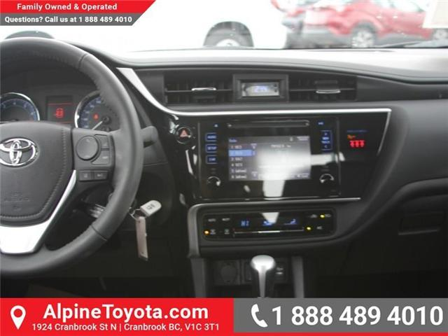 2018 Toyota Corolla LE (Stk: C077585) in Cranbrook - Image 10 of 18