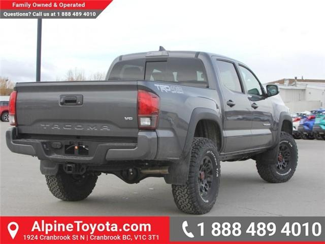 2018 Toyota Tacoma TRD Off Road (Stk: X139176) in Cranbrook - Image 5 of 18