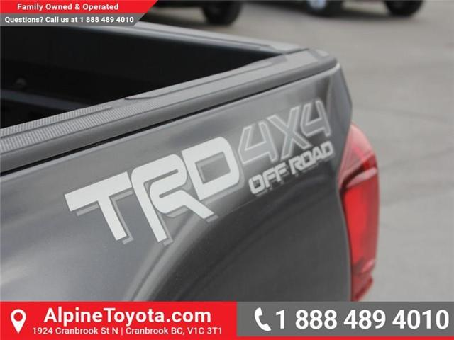 2018 Toyota Tacoma TRD Off Road (Stk: X139176) in Cranbrook - Image 16 of 18