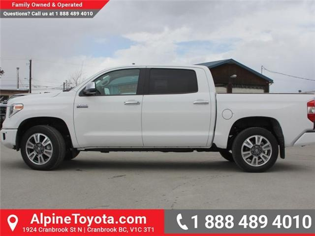 2018 Toyota Tundra  (Stk: X736270) in Cranbrook - Image 2 of 19