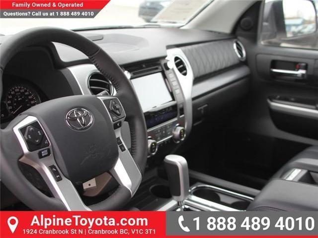 2018 Toyota Tundra  (Stk: X736270) in Cranbrook - Image 9 of 19