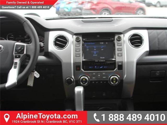2018 Toyota Tundra  (Stk: X736270) in Cranbrook - Image 10 of 19
