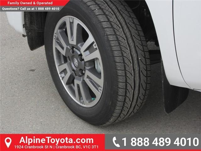 2018 Toyota Tundra  (Stk: X736270) in Cranbrook - Image 18 of 19