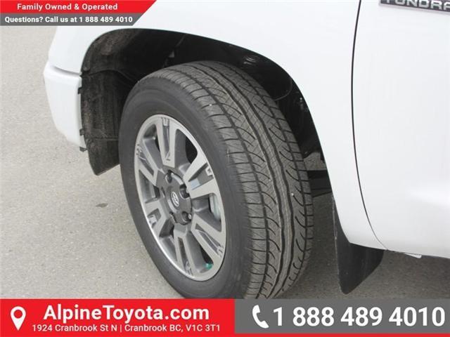 2018 Toyota Tundra  (Stk: X736270) in Cranbrook - Image 19 of 19