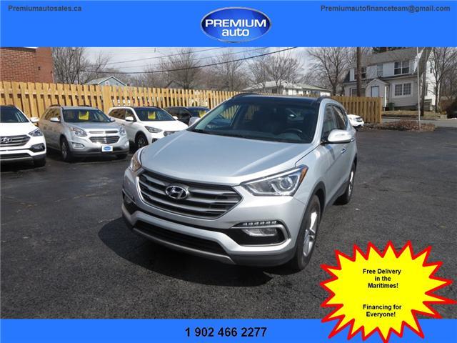 2018 Hyundai Santa Fe Sport 2.4 Luxury (Stk: 517100) in Dartmouth - Image 1 of 24