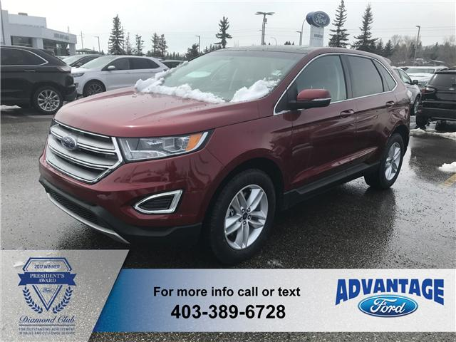 2018 Ford Edge SEL (Stk: J-731) in Calgary - Image 1 of 5