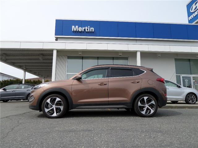 2016 Hyundai Tucson Limited (Stk: H87-2733A) in Chilliwack - Image 2 of 14