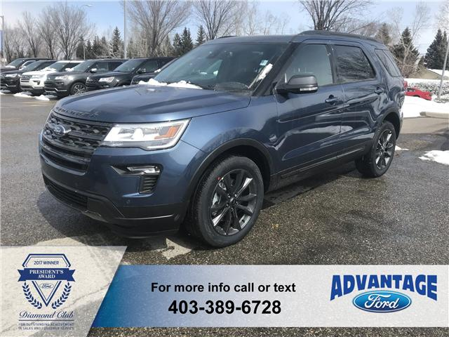 2018 Ford Explorer XLT (Stk: J-810) in Calgary - Image 1 of 5