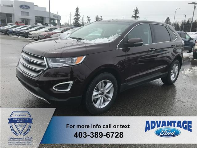 2018 Ford Edge SEL (Stk: J-821) in Calgary - Image 1 of 6