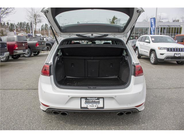 2016 Volkswagen Golf R 2.0 TSI (Stk: AG0729) in Abbotsford - Image 10 of 28
