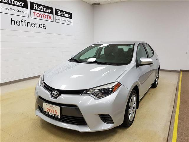 2015 Toyota Corolla LE (Stk: 185366) in Kitchener - Image 1 of 21